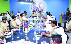 Dubai Police discuss preparations for the Aviation Insurance Committee 2019