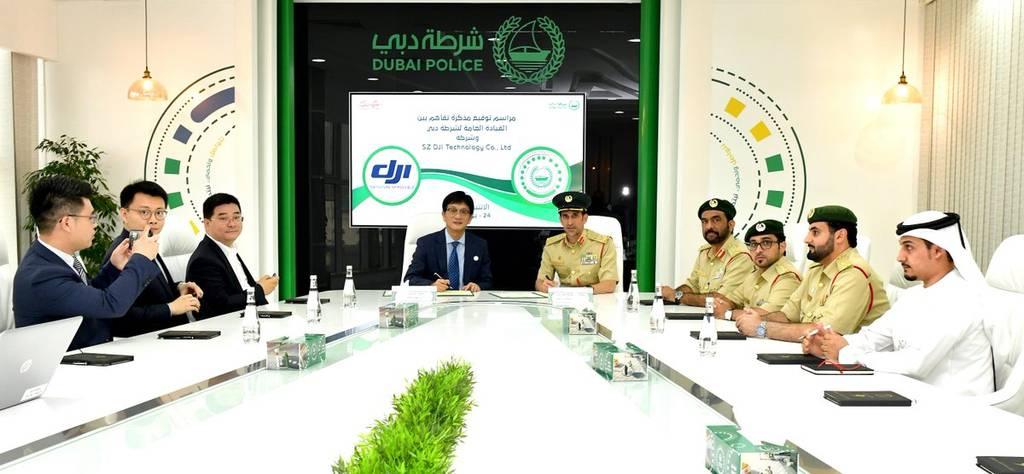 دبي تتعاون مع شركة صينية لتطوير خدمات الطائرات بدون طيار
