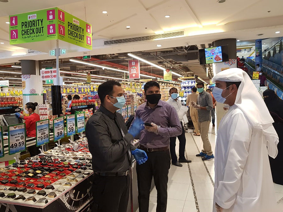 The Department of Economic Development, Sharjah, is intensifying its field trips to the markets by Ramadan