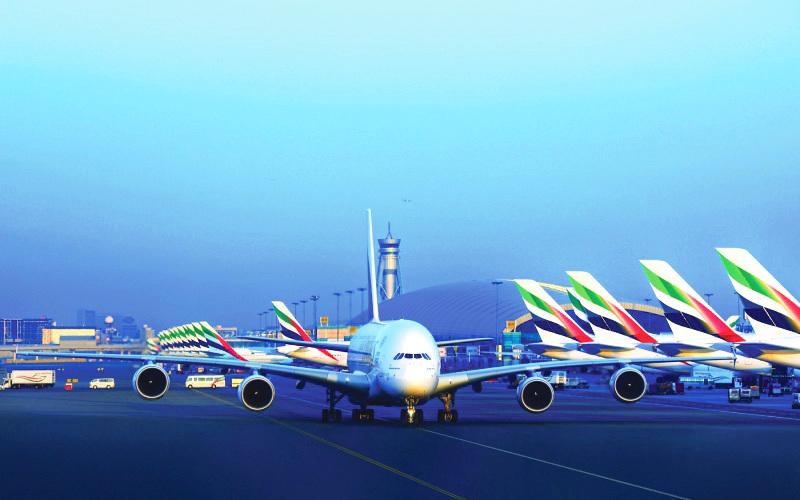 مطار دبي الثالث على قائمة الأفضل عالمياً وطيران الإمارات الثانية
