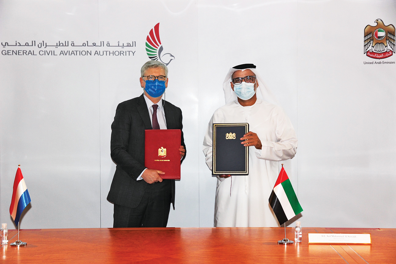 The UAE signs an air transport services agreement with Curaçao