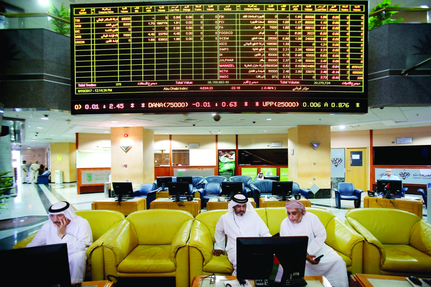 National companies overcome global challenges with strong profits