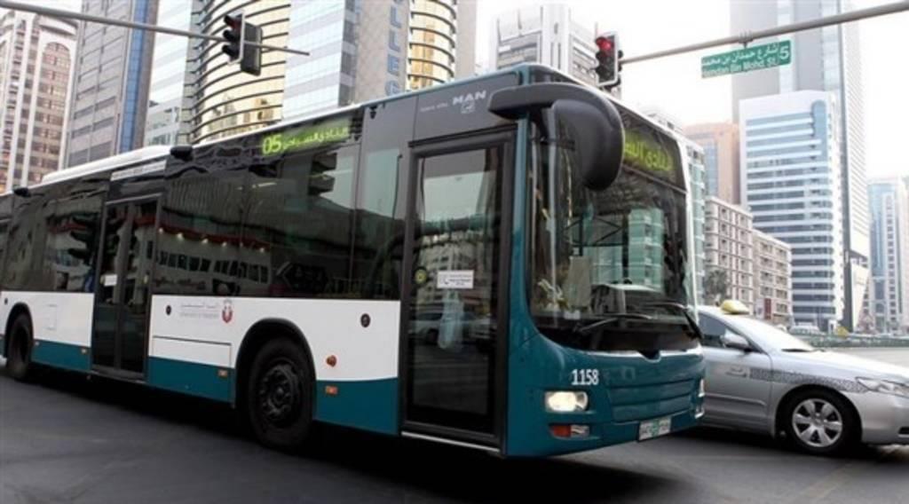 أبوظبي تطلق خدمة جديدة لمستخدمي الحافلات