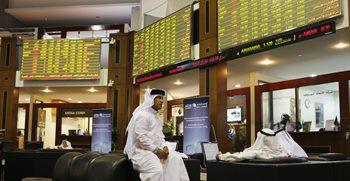 بداية خضراء لسوق دبي في أولى جلسات 2015