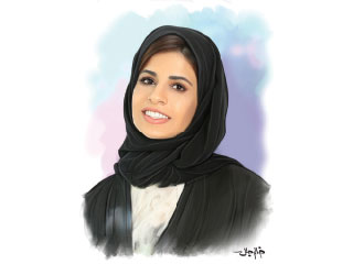 مريم الزعابي مهندسة حماية المنشآت بالتقنيات والأجهزة الذكية
