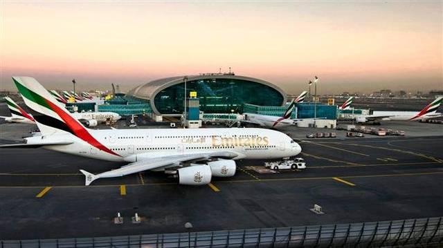 مطار دبي الدولي يتصدر المنطقة بالرحلات الدولية