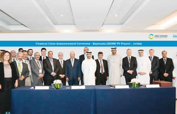 «مصدر» تستكمل تمويل إنشاء أكبر محطة للطاقة الشمسية في الأردن