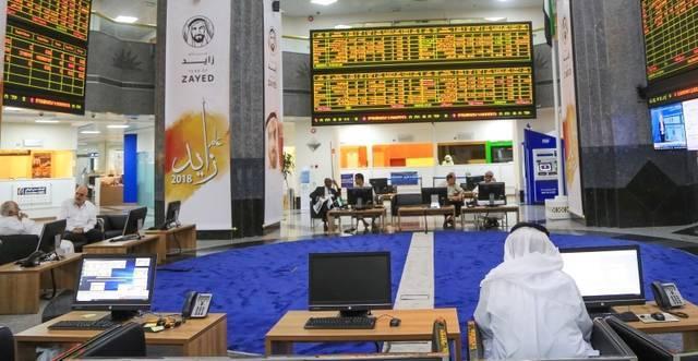 سوق أبوظبي يربح 2.8 مليار درهم بدعم أسهم العقار والاتصالات
