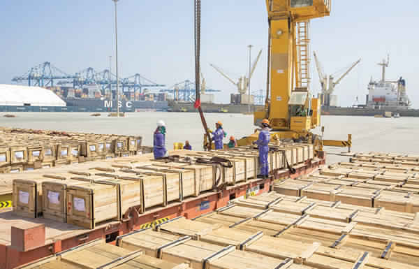 AED 18.7 billion Non-oil trade between the UAE and the US during the first quarter
