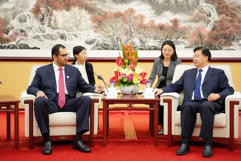 «أدنوك» تبحث توسعة الاستثمارات مع الشركات الصينية