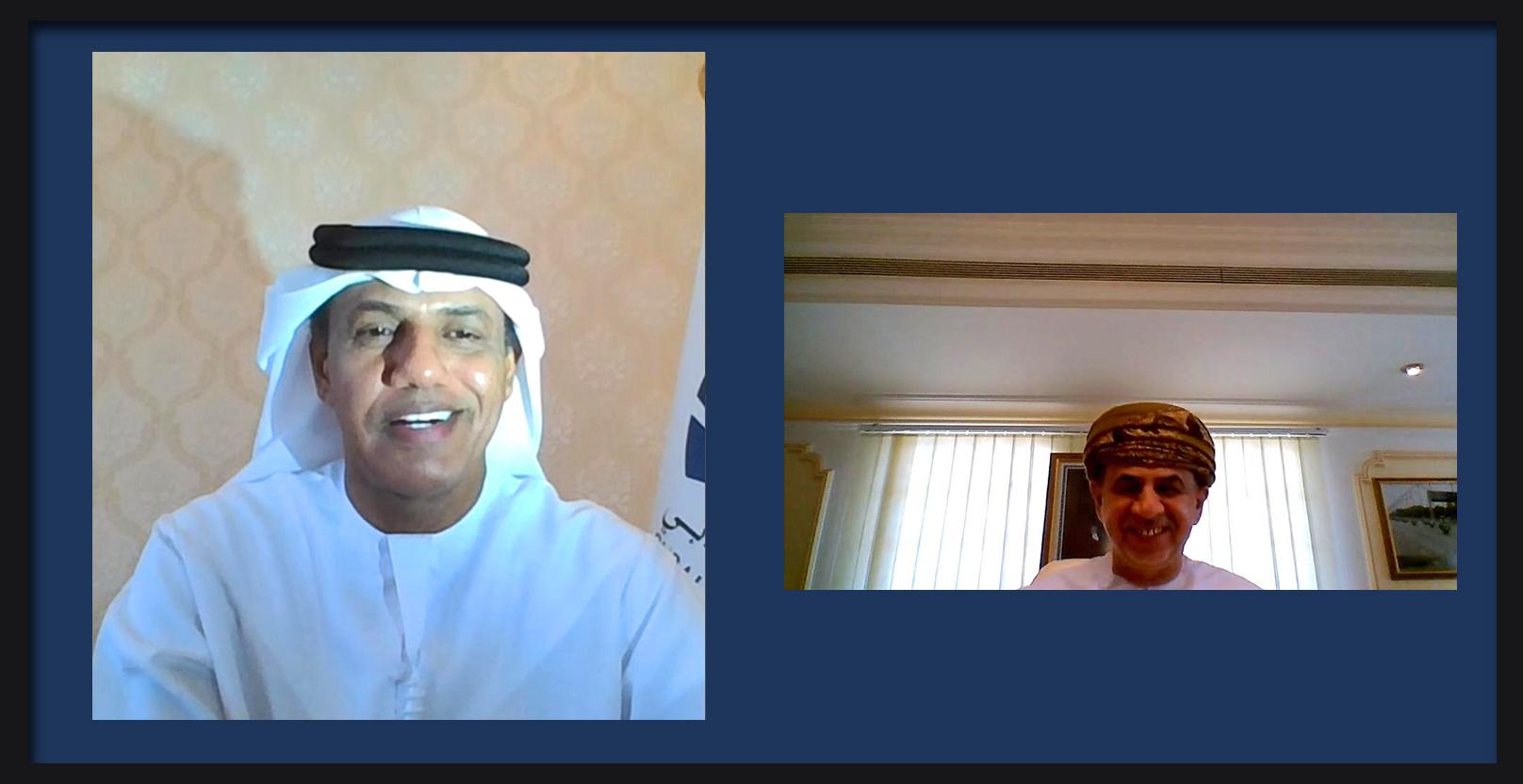 جمارك دبي ونظيرتها في عُمان تبحثان الاستعداد لما بعد كورونا