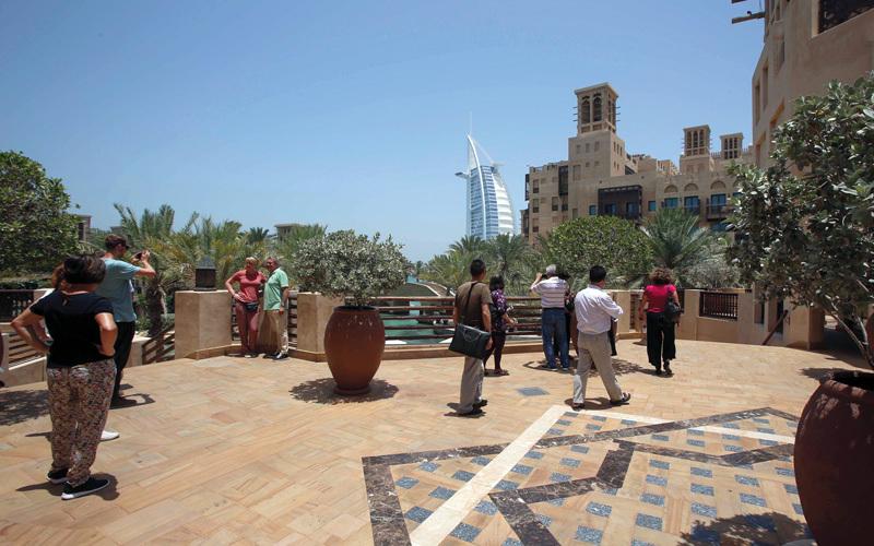 دبي تستقبل 14.2 مليون زائر دولي في 11 شهراً