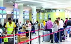 22.2 مليون مسافر عبر مطار دبي بالربع الأول
