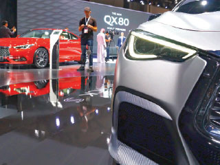 00 thousand visitors to «Dubai International Motor Show»