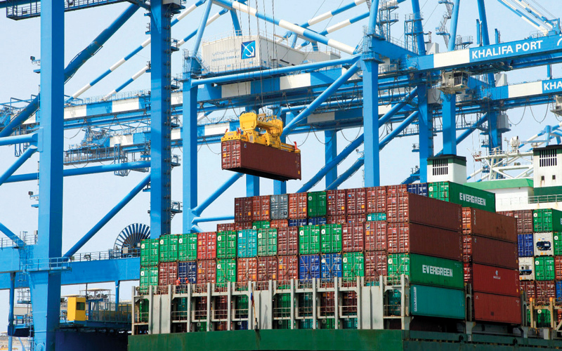 AED 1.7 trillion in total UAE foreign trade in 2017