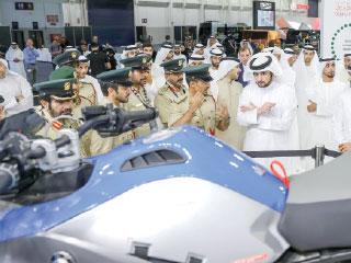 أحمد بن محمد يفتتح معرض دبي الدولي للسيارات