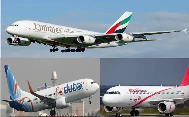 الناقلات الإماراتية تتسلم 261 طائرة من