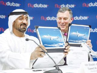 «فلاي دبي» تحلق بصفقة تاريخية مع «بوينج» لشراء 225 طائرة