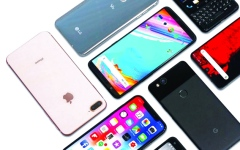 نمو مبيعات الهواتف في الإمارات 2019