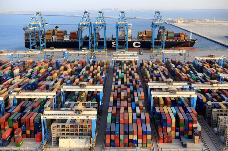 AED 9.8 billion Abu Dhabi exports in 5 months
