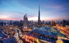 Jumeirah Tower signs Burj Khalifa design