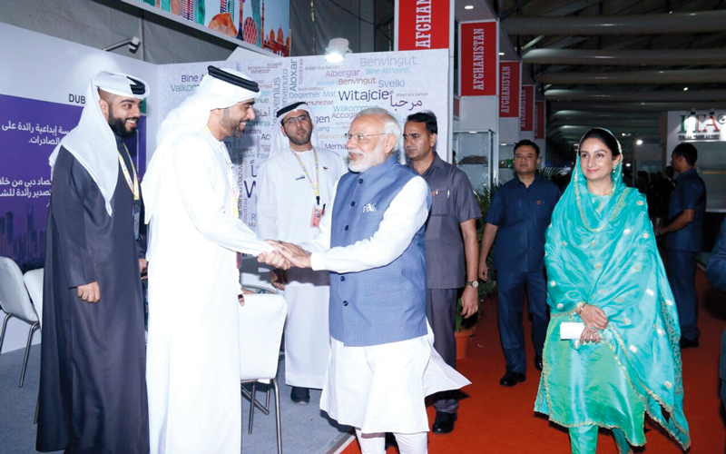 «دبي للصادرات» تروِّج الشركات الإماراتية في «معرض الغذاء العالمي» بالهند