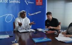 الإمارات للشحن الجوي تطلق منصة لتسليم التجارة الإلكترونية