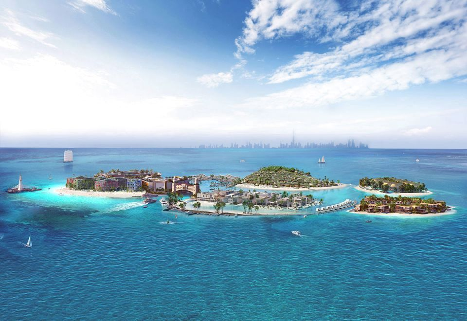 Delivery of floating villas begins at the Heart of Europe project