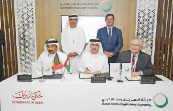 «ديوا» توقع اتفاقية لدراسة إنشاء جزيرة لتخزين الطاقة في الخليج العربي