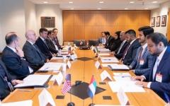 الإمارات وأمريكا تعقدان الحوار السادس بشأن السياسة الاقتصادية