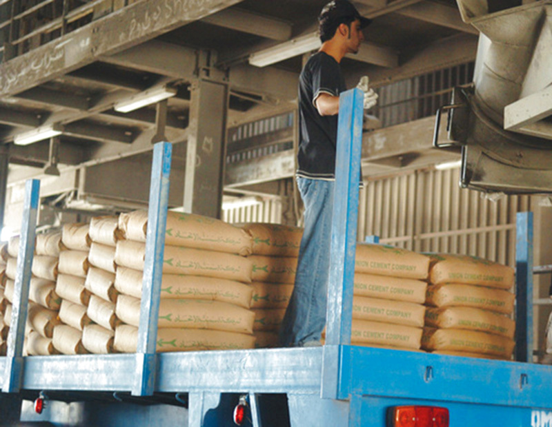 High prices for cement in Abu Dhabi
