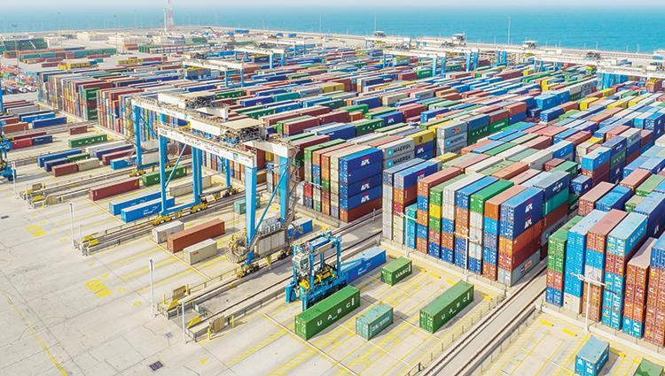 37.1 billion dirhams of Abu Dhabi non-oil trade within two months