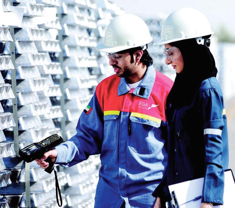 3.4 billion UAE aluminum trade in 6 months