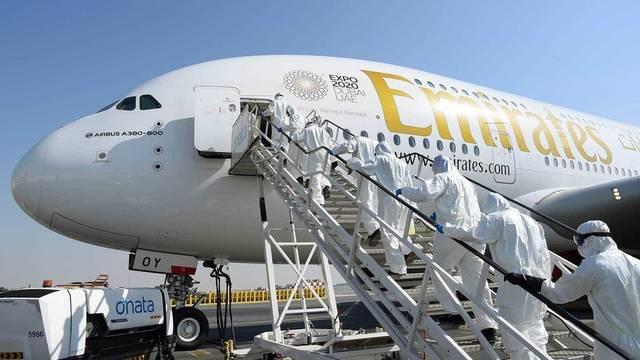 Resuming Emirates Airlines flights through Dubai International Airport