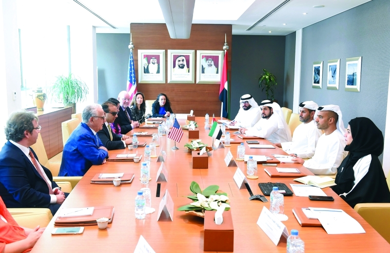 تطوير التجارة والاستثمار بين أبوظبي والولايات المتحدة
