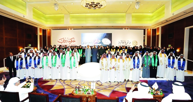 «Finance Dubai» Graduates 96 employees from 21 parties in the diplomas «Malion»