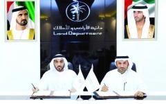 «أراضي دبي» توقع مذكرة تفاهم مع سلطة التسجيل بسوق أبوظبي العالمي