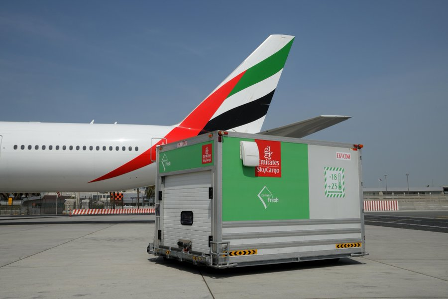Dubai airports are moving to support the rise in freight operations during the Coruna outbreak
