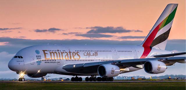 طيران الإمارات ضمن الأفضل عالمياً