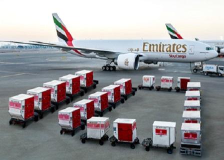 الإمارات للشحن تسيّر رحلات أسبوعية إلى تونس وساحل العاج