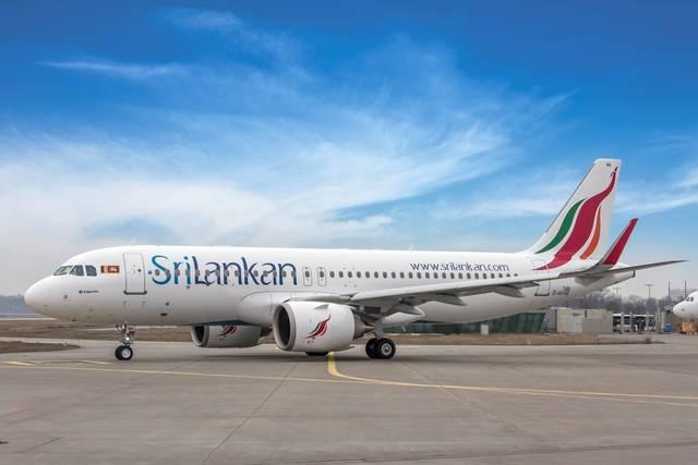 الخطوط السريلانكية ترفع رحلاتها إلى دبي