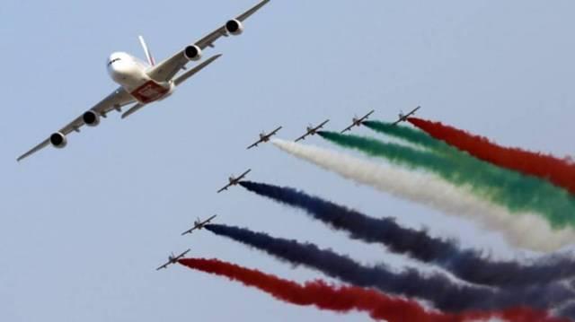 انطلاق فعاليات اليوم الخامس من معرض دبي للطيران