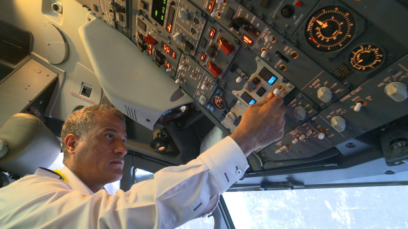 Flydubai has a fleet undergoing extensive maintenance to prepare for a return to service