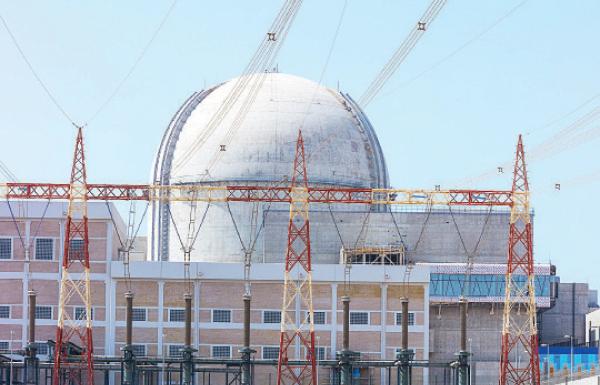 «الإمارات للطاقة النووية» تنجز إنشاءات المحطة الثالثة في براكة