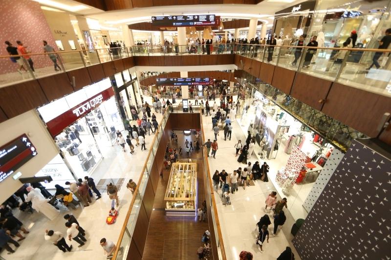 دبي مركز أساسي لعلامات التجزئة العالمية
