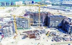 مشروع «ياس باي» ينهي مراحل مهمة في أعمال تطويره