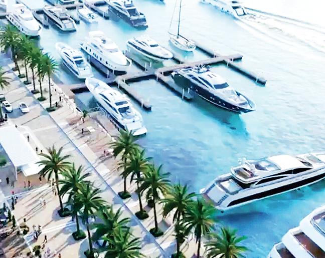 «مدينة التجار» دُرّة شاطئية جديدة في دبي