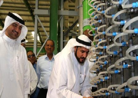 افتتاح وحدة تحلية مياه الحمرية بكلفة 446 مليون درهم