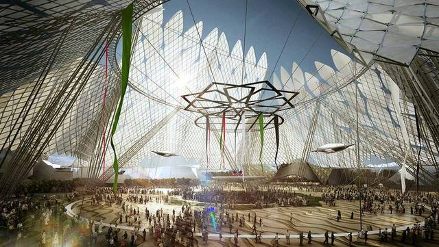 23.4 million dollars the cost of the Portugal Pavilion at the Dubai Expo