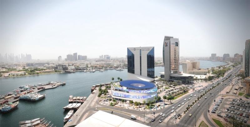 بدء تشييد مبنى متعدد الطوابق والمرافق في غرفة دبي